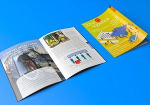 Diseño editorial, diseño de revistas, publicaciones, Zonalogística