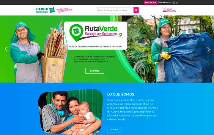 pagina web recimed
